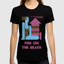 Fun on the beach jazz age T-shirt