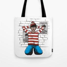 Arrest Tote Bag