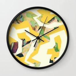 Camouflage XXXV Wall Clock