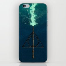 Harry Potter Deathly Hollows Expecto Patronum iPhone & iPod Skin