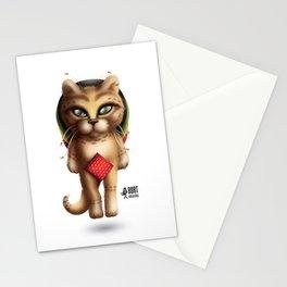 Rastaman Cat Stationery Cards