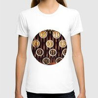 numbers T-shirts featuring Vintage Numbers by happeemonkee