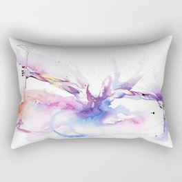 Outside The Picture Rectangular Pillow