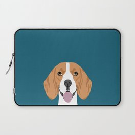Lenon - Beagle gifts for pet owners and dog person with a beagle Laptop Sleeve