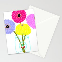 Flowers In A Bottle Stationery Cards