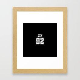 BTS - JIN Framed Art Print