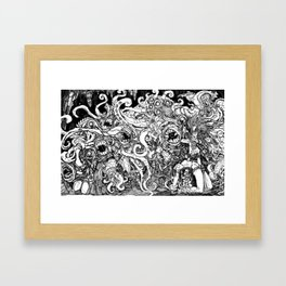 Shub Niggurath Framed Art Print