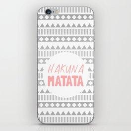 Hakuna Matata II iPhone Skin