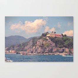 Cliffside Italian Villages Canvas Print