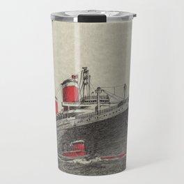 Steam Ship, New York Harbor Travel Mug