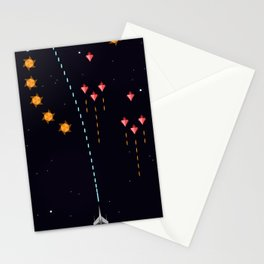 Game Frame - Epic Space War Stationery Cards