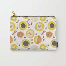 Coffee upper view Carry-All Pouch