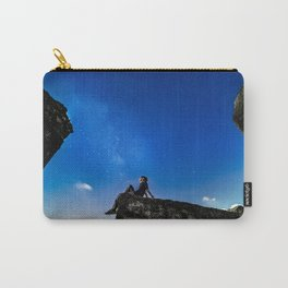 Dreaming under starry sky Carry-All Pouch