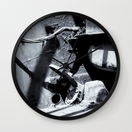 The Cockpit of Industry Wall Clock