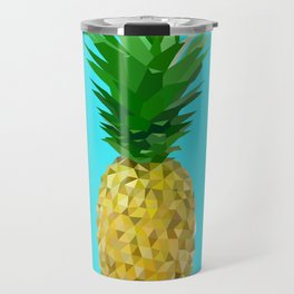Lowpoly Pineapple Travel Mug