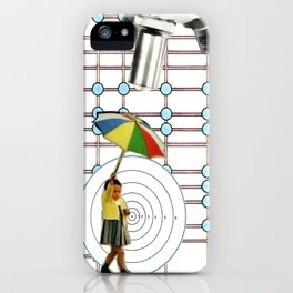 Conforming Future, No Admittance iPhone Case