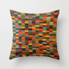 checkered my flag  Throw Pillow