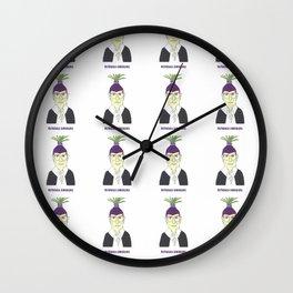 Rutabaga Ginsburg Wall Clock