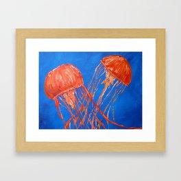 Dance of the Sea 4 Framed Art Print