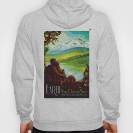 Earth - Your Oasis in Space Hoody