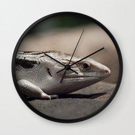 Blue Tongue Lizard Wall Clock