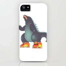 Dunkzilla iPhone Case
