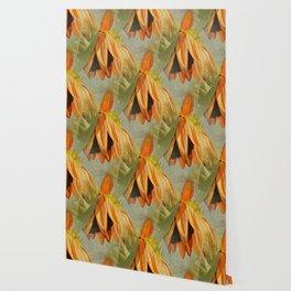 Orange Sunflower Wallpaper