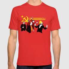 The Communist Party (original) LARGE Mens Fitted Tee Red