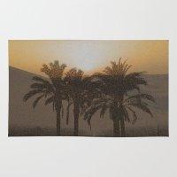 arabic Area & Throw Rugs featuring Arabic by Louise Machado