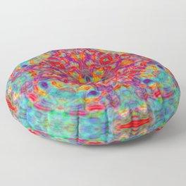 Mandala of Joy Floor Pillow