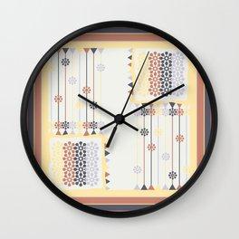Abstract pillow pattern Wall Clock