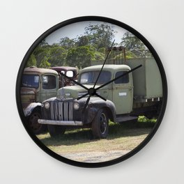 Old Ford Truck Wall Clock