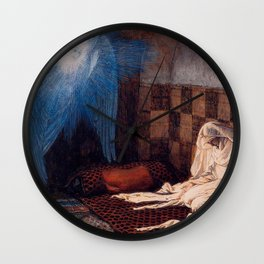 James Jaques Tissot Annunciation The Life of Christ 1886 Wall Clock