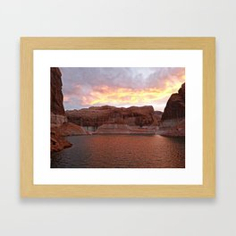 Lake Powell Evenings Framed Art Print