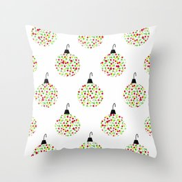 Deck the Tree Throw Pillow