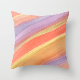 Saturn Rings Dance Throw Pillow