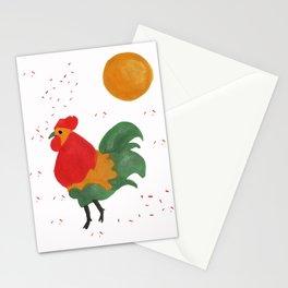 Celebratory Rooster Stationery Cards
