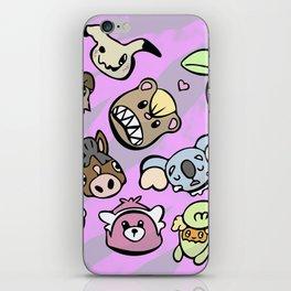 Cute Alola Pokémon iPhone Skin