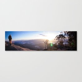 With Your Own Eyes Canvas Print