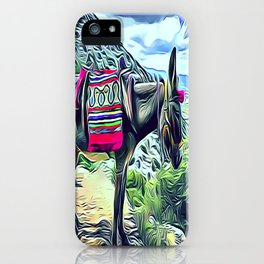Mexican Burro iPhone Case