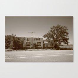 Route 66 - San Jon, New Mexico 2012 Canvas Print