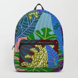 Lush Leaves Backpack