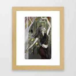 Inquisitor Lavellan Tarot Framed Art Print