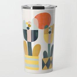 Two flowers Travel Mug