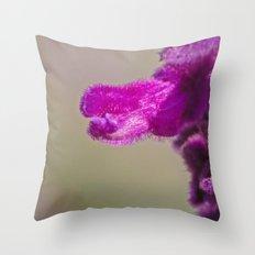 A Little Fuzzy Throw Pillow