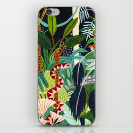 The Jungle at Midnight iPhone Skin