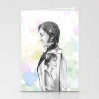 pride and prejudice Stationery Cards featuring Pride and Prejudice by Wadart