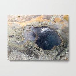 yellowstone landscape Metal Print
