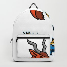 Wildlife Head Mascot Collection Backpack