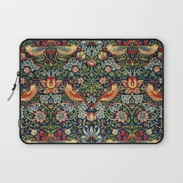 Strawberry Thief by William Morris 1883 Antique Vintage Pattern CC0 Spring Summer Laptop Sleeve